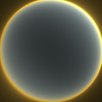 Simulated atmosphere after sunsent